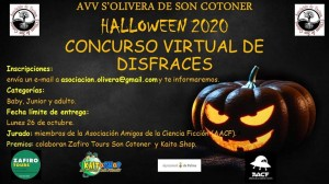 Concurso Virtual Halloween S'Olivera