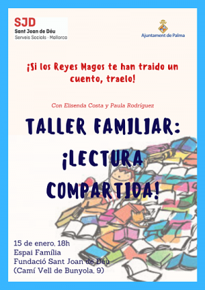 Taller Familiar: Lectura compartida!
