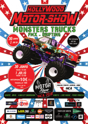 Monsters Trucks, Hollywood Motor-Show