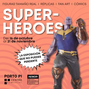 Expo Superhéroes