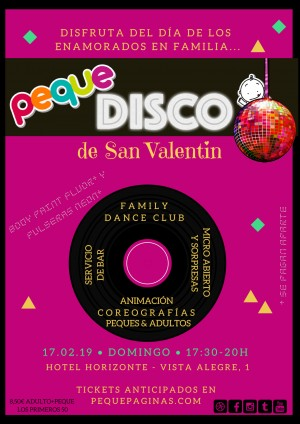 Peque Disco familiar - Palma - toda la familia