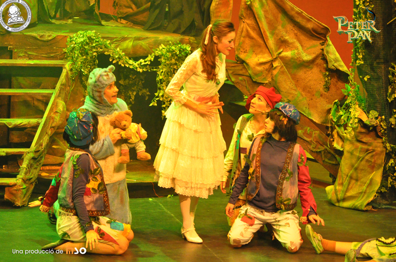 Peter Pan, la gran aventura, musical familiar