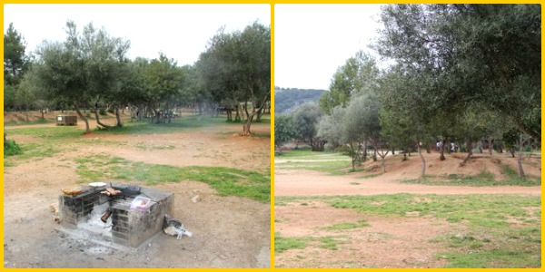 area recreativa de caubet bunyola mallorca