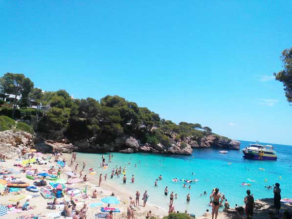 Playa familiar en Mallorca: Cala Esmeralda
