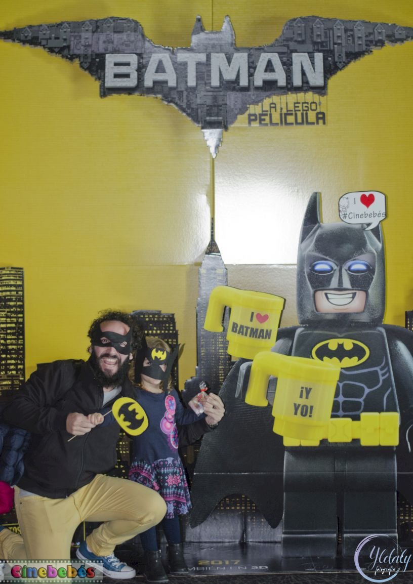 Photocall Cinebebés Lego Batman Mallorca
