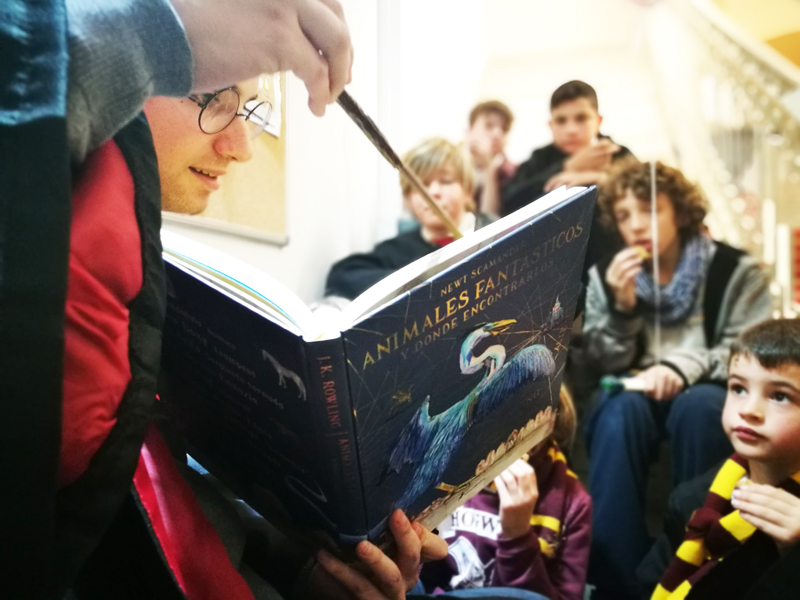 harry potter book night  Mallorca: lectura de libros
