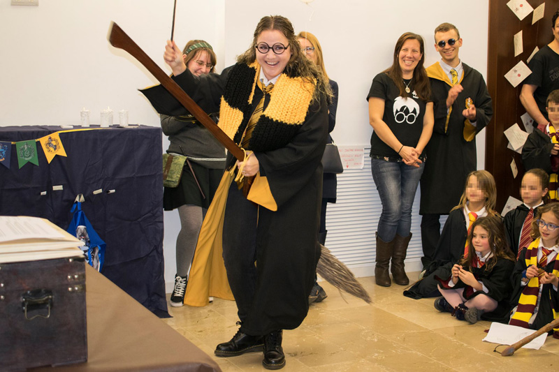 harry potter book night cosplay aacf